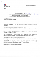 Arrêté préfectoral portant nomination des membres des commissions de contrôle des listes électorales arrondissement de Largentière.dib
