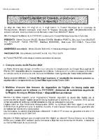 Compte rendu de la séance du conseil municipal du 26 mars 2021